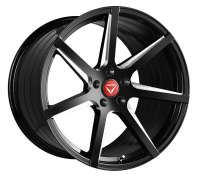 VERTINI WHEELS - WING-7-gloss black machine cut