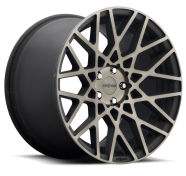ROTIFORM - BLQ - R111 / 1PC CAST-black machined