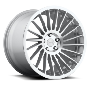 ROTIFORM - IND-T - R125 / 1PC CAST-silver machined