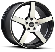 RUFF - R361-black with machined face