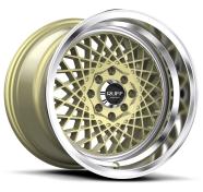 RUFF - R362-gold machined lip