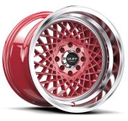 RUFF - R362-red machined lip