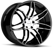 RUFF - R960-gloss black w/ mach stripe
