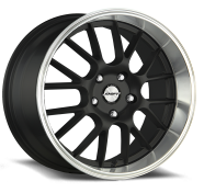 SHIFT WHEELS - CRANK-black polished lip