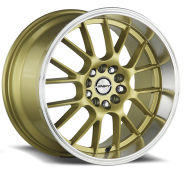 SHIFT WHEELS - CRANK-gold polished  lip