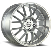 SHIFT WHEELS - CRANK-silver polished lip