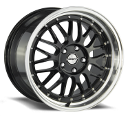 SHIFT WHEELS - FLYWHEEL-gloss black polished lip