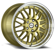 SHIFT WHEELS - FLYWHEEL-gold polished lip