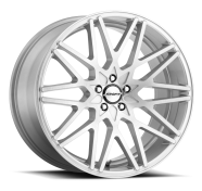 SHIFT WHEELS - FORMULA-brush faced silver