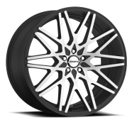 SHIFT WHEELS - FORMULA-gloss black machined