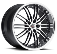SPEC-1 - RACING SP-7-gloss black machined stainless lip