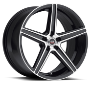 SPEC-1 - RACING SP-8-gloss black machined