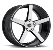 SPEC-1 - RACING SP-36-gloss black brushed