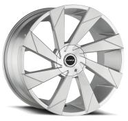 STRADA - MOTO -brush face silver