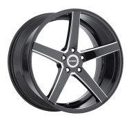 STRADA - PERFETTO (MILLED)-gloss black milled