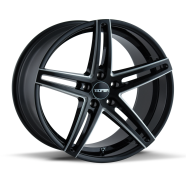 TOUREN - TR73-gloss black milled spokes