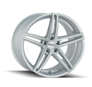TOUREN - TR73-gloss silver milled spokes