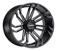 TUFF A.T. - T21-gloss black w/ milled spokes