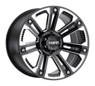 TUFF A.T. - T22-gloss black w/ milled spokes