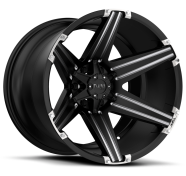 TUFF - T12-satin black milled