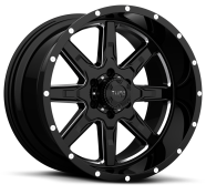 TUFF - T15-gloss black milled