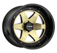 TUFF - T1A-gloss gold w/ gloss black
