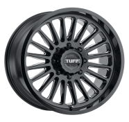 TUFF - T5A-gloss black w/ milled spoke