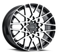 VISION - 474 RECOIL-gloss black machined face