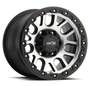 VISION OFF-ROAD - 111 NEMESIS-matte black machined face