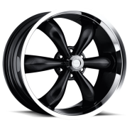 VISION - AMERICAN MUSCLE - 142 LEGEND 6-gloss black machined lip