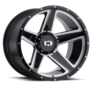 VISION OFF-ROAD - 390 EMPIRE-gloss black milled spoke