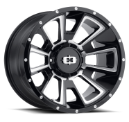 VISION OFF-ROAD - 391 REBEL-gloss black milled spoke