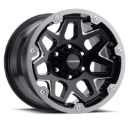 VISION OFF-ROAD - 416 SEVEN-gloss black milled spoke