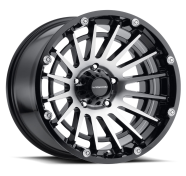 VISION OFF-ROAD - 417 CREEP-gloss black machined face