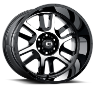 VISION OFF-ROAD - 419 SPLIT-gloss black machined face