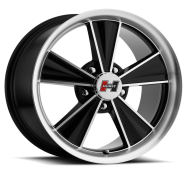 HURST WHEEL - DAZZLER-gloss black mirror machined face