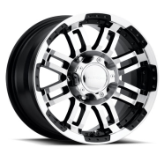 VISION OFF-ROAD - 375 WARRIOR-gloss black machined face