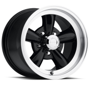 VISION - AMERICAN MUSCLE - 141 LEGEND 5-gloss black machined lip