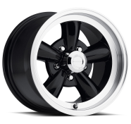 VISION - 141 LEGEND 5-gloss black machined lip