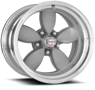 AMERICAN RACING - VN402  CLASSIC 200S-2- piece vintage silver center polished rim