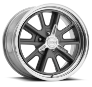 AMERICAN RACING - VN427  SHELBY COBRA-2- piece mag gray center polished rim