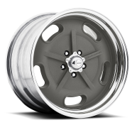 AMERICAN RACING - VN470  SALT FLAT-mag gray center polished barrel