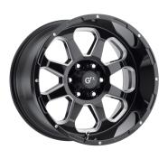 G-FX - TR-10-gloss black milled