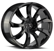 XCESS WHEELS - X01-all gloss black