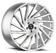 XCESS WHEELS - X02-brushed face silver