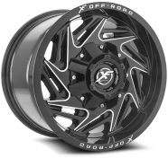 XF OFF-ROAD - XF-203-black milled