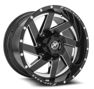 XF OFF-ROAD - XF-205-black milled