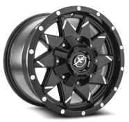 XF OFF-ROAD - XF-208-gloss black milled