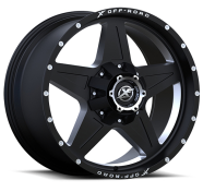 XF OFF-ROAD - XF-210-matte black milled