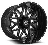 XF OFF-ROAD - XF-211-gloss black milled